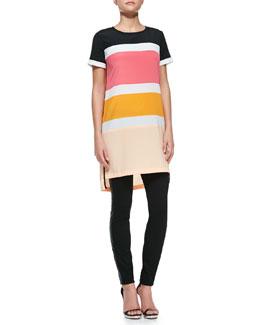 DKNY Colorblock T-Shirt Dress