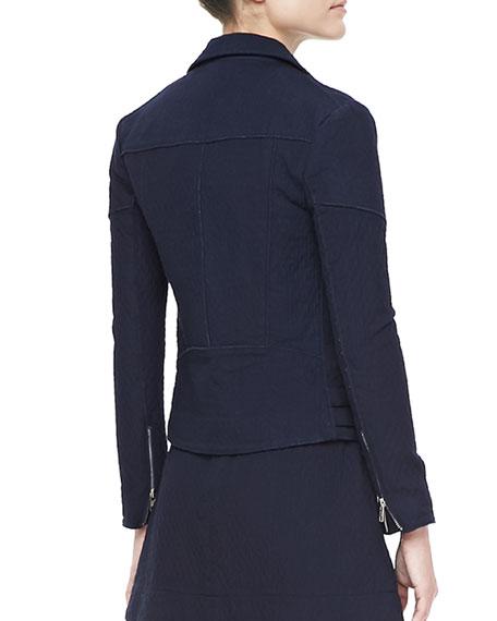 Joan Cotton Biker Jacket