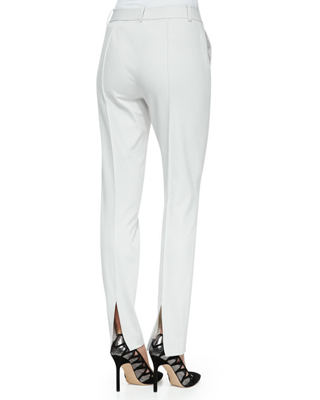 Center-Seam Slim Pants, Vapor