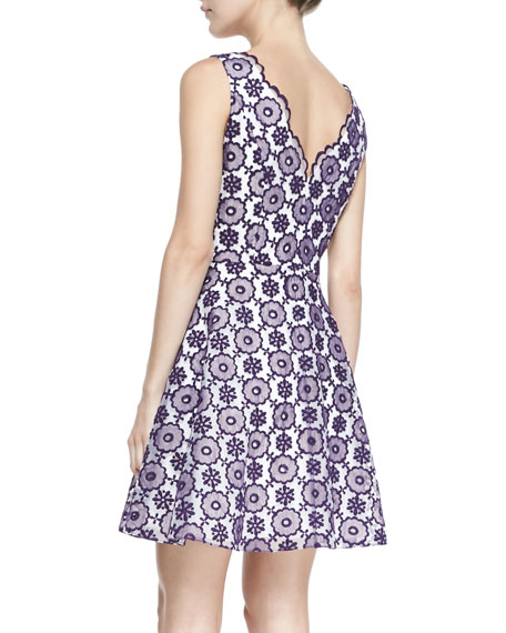 Sally Sleeveless Lace Cocktail Dress