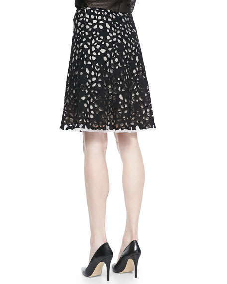 Connie Full Bramble Lace Skirt