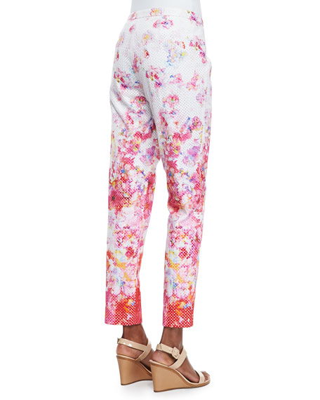 Lindley Floral-Print Pants