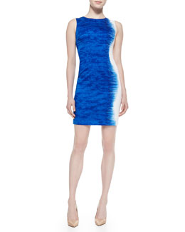 Elie Tahari Emory Palisades Sleeveless Sheath Dress