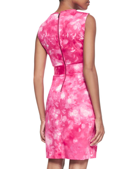Malone Sleeveless Printed Dress