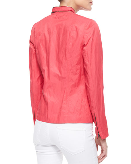 Charity Zipper Jacket, Popsicle
