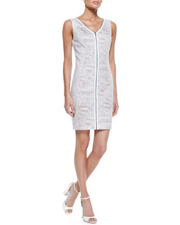 T Tahari Mallie Snake-Track-Print Dress