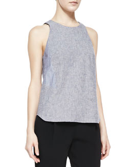 Rag & Bone Adeline Patterned Sleeveless Top