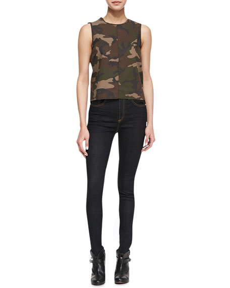 Justine High-Rise Skinny Jeans, Harrow