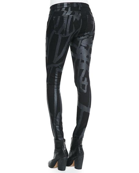 Black Robot The Legging Jeans