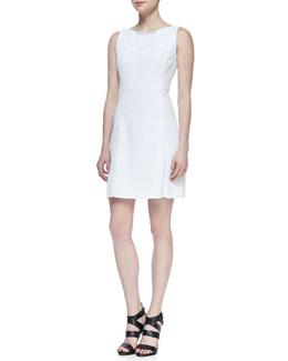 T Tahari Maylin Crisscross A-line Dress