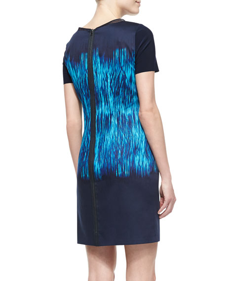 Kae Ferrat Short-Sleeve Dress