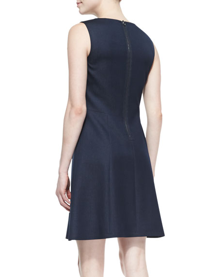 Micah Sleeveless Full Skirt Dress