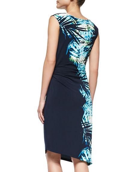 Kelly Tropic-Print Dress