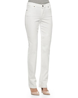 CJ by Cookie Johnson Faith Straight-Leg Jeans, Optic White