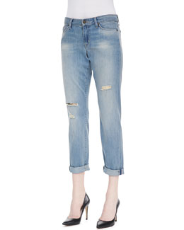 CJ by Cookie Johnson Glory Slim Boyfriend Jackson Jeans