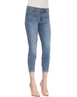 CJ by Cookie Johnson Believe Cropped Skinny Jeans, Mary Blue