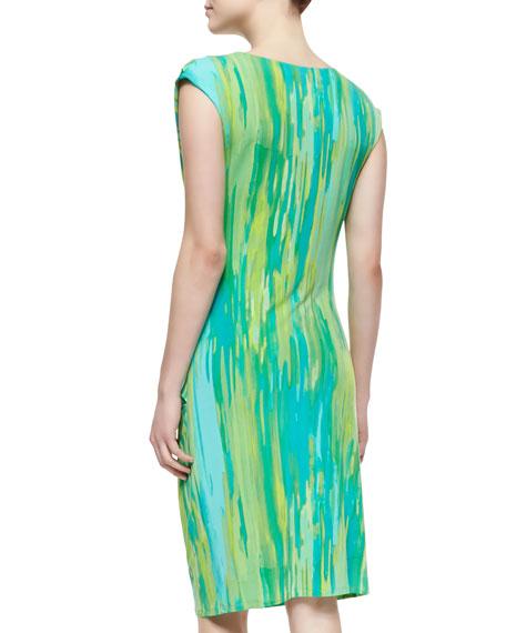 Taal Lake Dress Jersey Dress, Blue