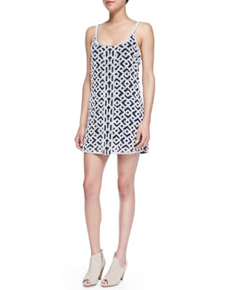 Parker Hayden Sleeveless Beaded Dress