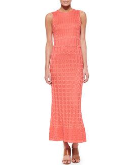 M. Missoni Sleeveless Knit Maxi Dress