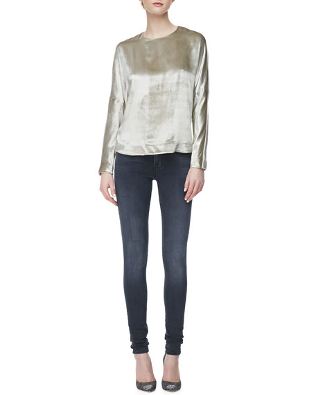 624 Stacked Super Skinny Mid-Rise Jeans, Crush