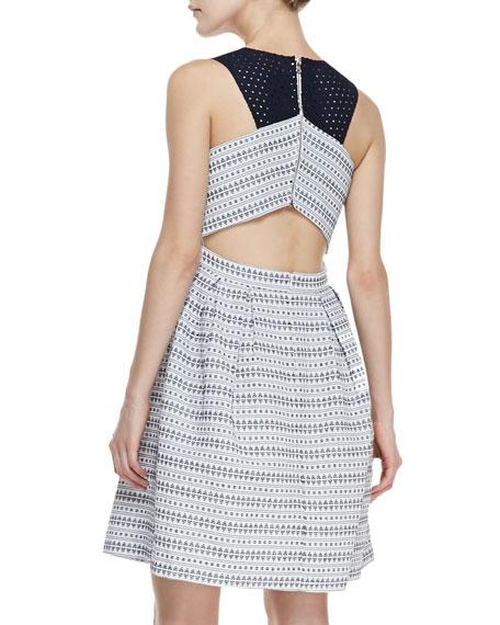 Cecilia Printed Sleeveless Dress