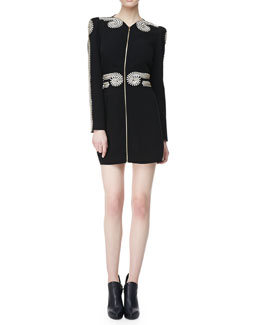 sass & bide Spoonful of Sugar Embellished Zip Dress