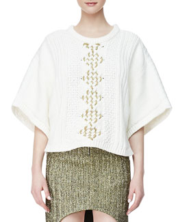 sass & bide The Story Line Knit Top