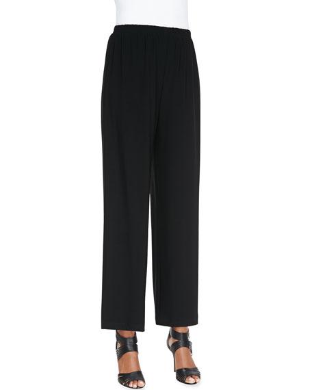 Wide-Leg Ankle Pants, Women's