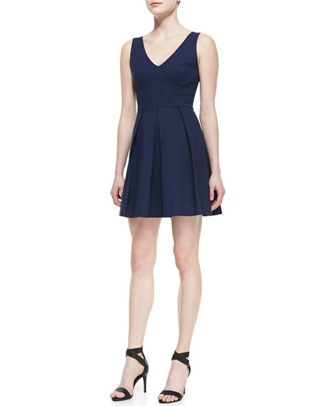 Bessina Sleeveless A-Line Dress