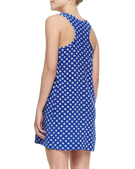 Peri D Printed Sleeveless Dress
