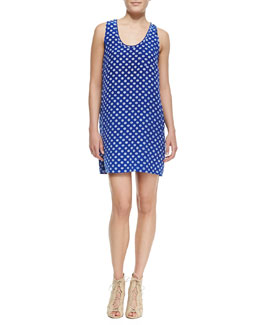 Joie Peri D Printed Sleeveless Dress