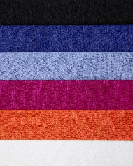 Boxy High-Low Organic Linen-Cotton Top