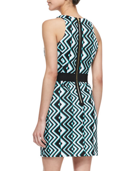 Ana Geo-Print Sheath Dress