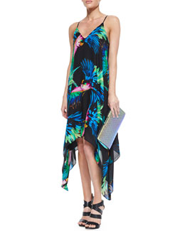 Milly Paradise Print Strappy Dress