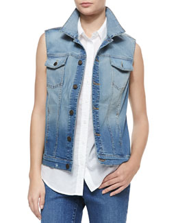CJ by Cookie Johnson Triumph Denim Vest