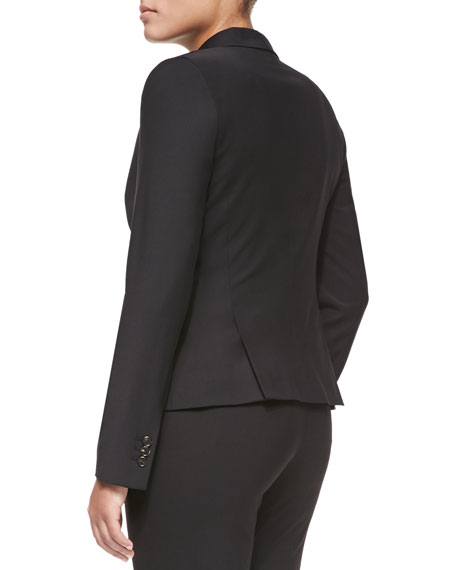 Two-Button Blazer, Black