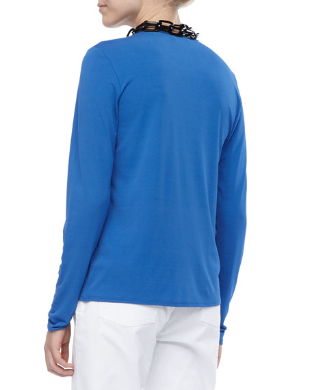 Long-Sleeve Crewneck Tee