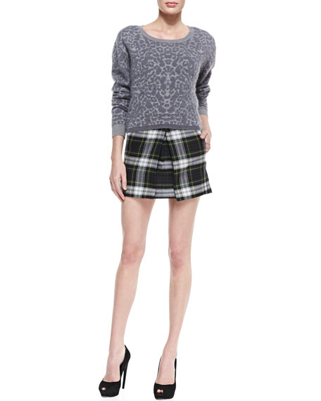 Campbell Plaid Pleat Skirt
