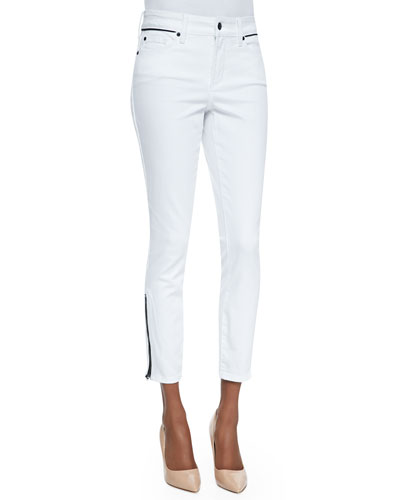 Not Your Daughter's Jeans Kaelyn Fitted Ankle Jeans, Arctic White