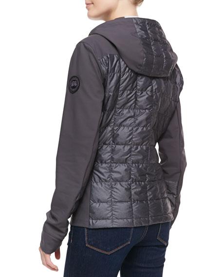 Fernie Puffer Hoodie Jacket, Graphite