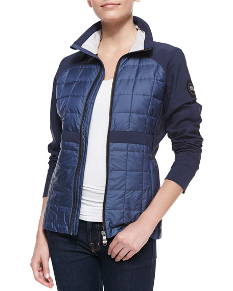 Fernie Double-Weave-Sleeve Jacket
