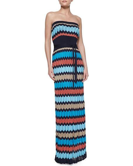 Inkblot Sweater Maxi Dress