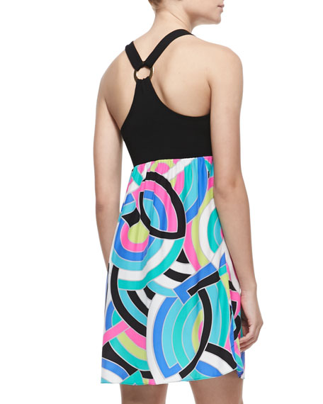 Mallory Sleeveless Ring-Back Dress