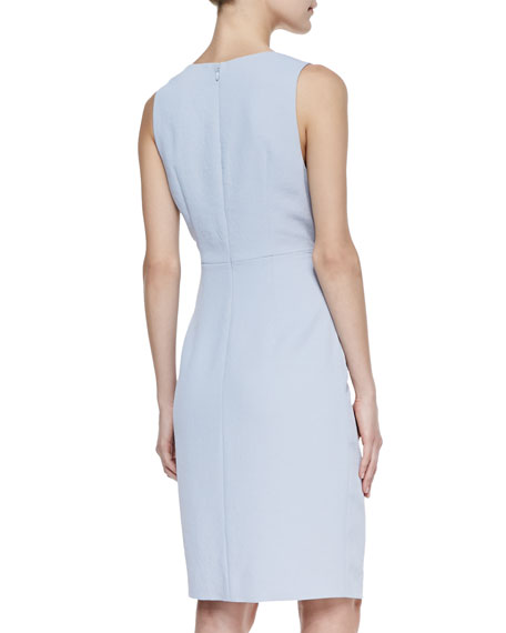 Malone Dress With Off-Center Front Zip