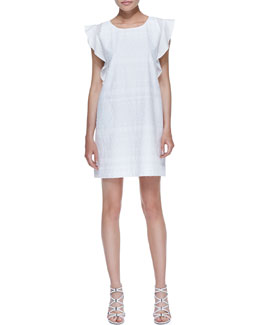 Rebecca Minkoff Excellent Sand Eyelet Dress