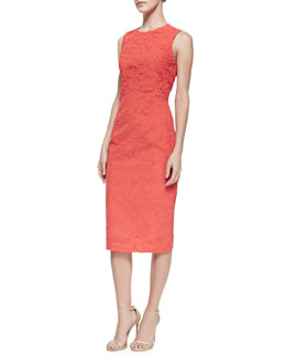 Michael Kors Plisse Georgette Dress
