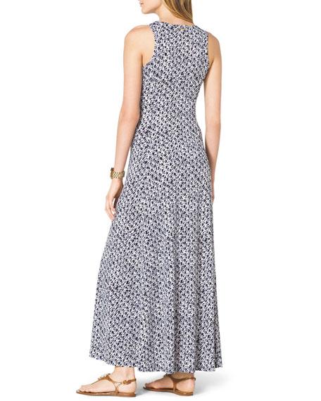 Sleeveless Slit-Hem Maxi Dress, Women's