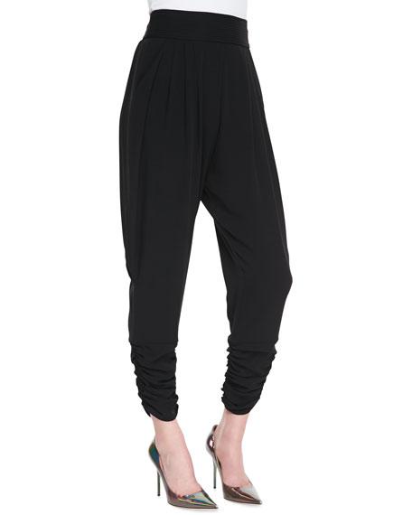 Gisella High-Waist Harem Pants