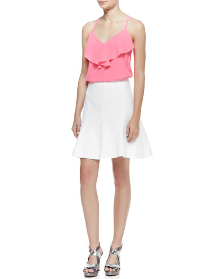 Love Chase A-Line Pique Skirt