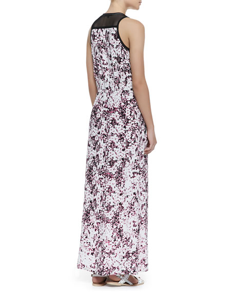 Love In Havana Printed Maxi Dress
